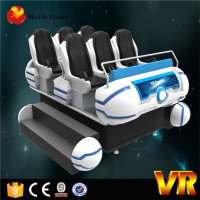 6 Seats 9d Vr Family,360 Rotated Helmet Dynamic 9d Vr Cinema
