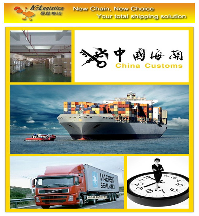 International logistics service from China to India