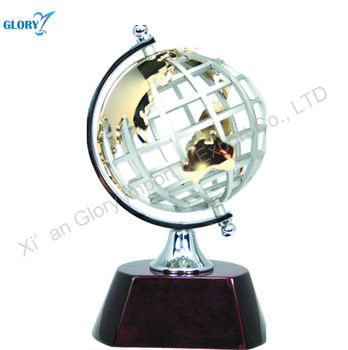 Wholesale Quality Metal World Earth Globe for business gift