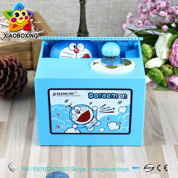 Birthday gift plastic personalized money safe box