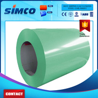 Prepainted GI steel coil / PPGI / PPGL color coated dx51d z100 galvanized steel sheet in coil
