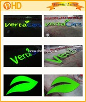 led letter lights sign 3d metal wall art sample inquiry business letter