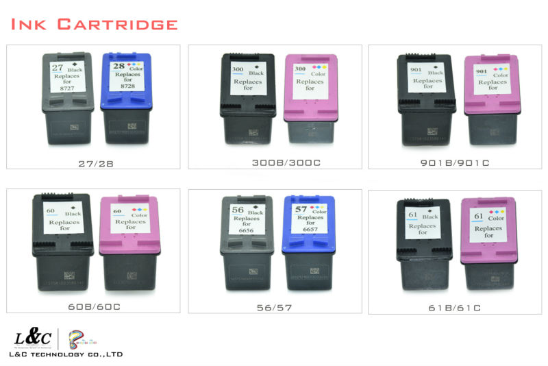 continuous system cheap 689 refill for hp deskjet 5525 ink cartridge