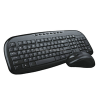 Multimedia Type Wireless keyboard mouse combo, KMSW-012