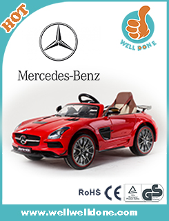 WDHZLAMK Electric Car For Children 12V With 2.4G R/C