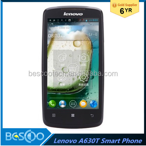 New Lenovo A630T Smartphone Android 4.0 MTK6577 Dual Core 4.5 Inch 3G mobile phone alibaba china
