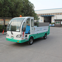 2 seats mini electric cargo van truck