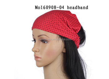 Wholesale women fashion hair band elastic headband