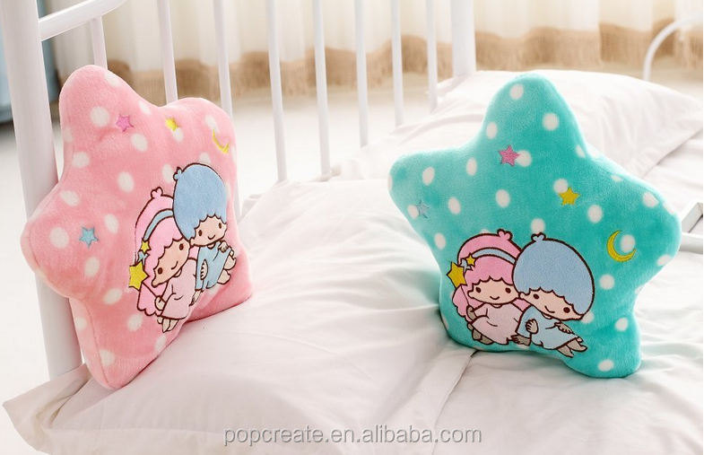 little twin stars hold pillow