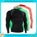 Wholesale Men's Running Gym Workout Compression Shirt