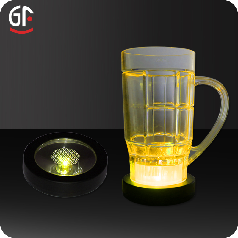 Wholesale Weight Sensitive Led <strong>Wine</strong> Bottle Coaster