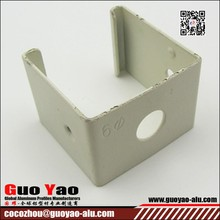 aluminum profile, Powder-coated , for windows and doors, made of 6063