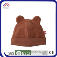 2014 cute winter make baby fleece hat