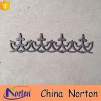 arabesquitic iron wrought ornamental gate accessories NTIRA-017X