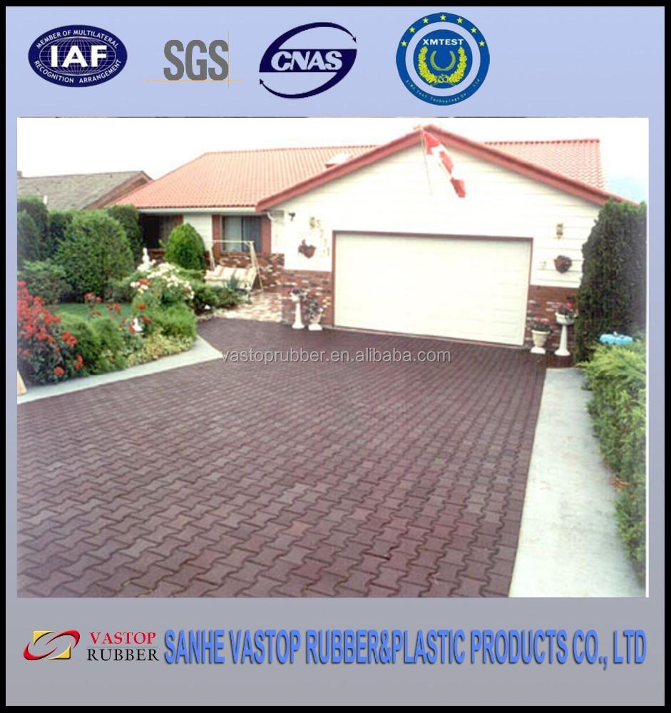 Dog Bone Rubber Patio Paver Tile/ourdoor Rubber Driveway Mats/pavers   Buy  Outdoor Rubber Driveway Mats,Driveway Recycled Rubber Pavers,Driveway Rubber  ...
