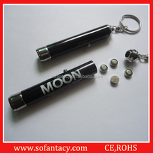 Best selling led light up keychain flashlight,UV light led keychain,purple colour led keychain light