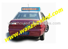 P6 /P7.62/P10 Outdoor Advertising Taxi Roof LED Screen,window led screen