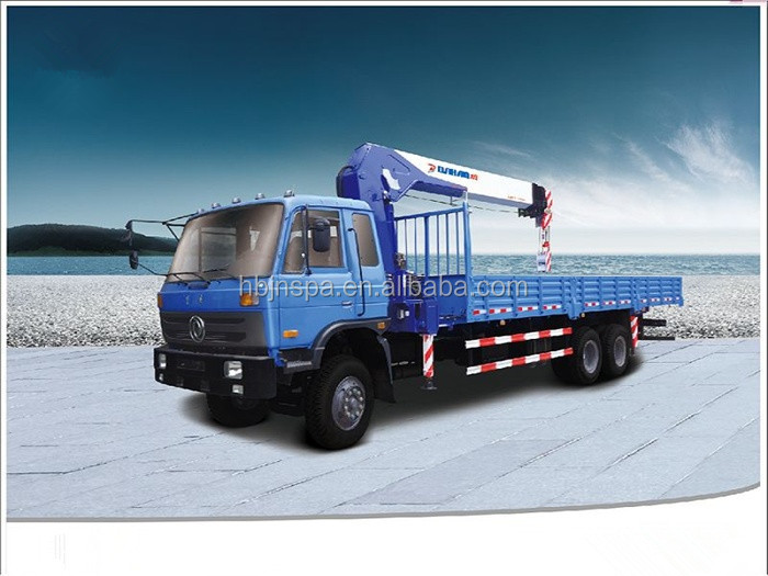 Quality guarantee dongfeng 6*4 16 ton truck crane for sale