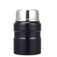 17oz Leak proof Double wall Vacuum Insulated Stainless steel Thermos 500mL Food Jar Flask