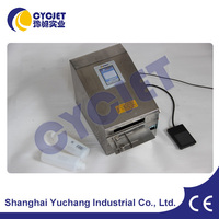 CYCJET Professional Manual Spray Coding Machine/Desktop Inkjet Printer/Zip Top Cans Inkjet Printer