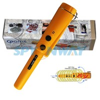 Gold Diamond Hand Held Metal Detector/Supper Body Scanner/Supper Wand Portable Scanner Metal Detector