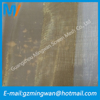 China Supplier 100 Mesh 200 Mesh Emf Shielding Clothing/Red Copper Wire Mesh
