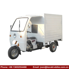 Heavy Load Auto Passenger Rickshaw 3 wheel Half Closed Cab Ambulance Cargo Tricycle with Cabin
