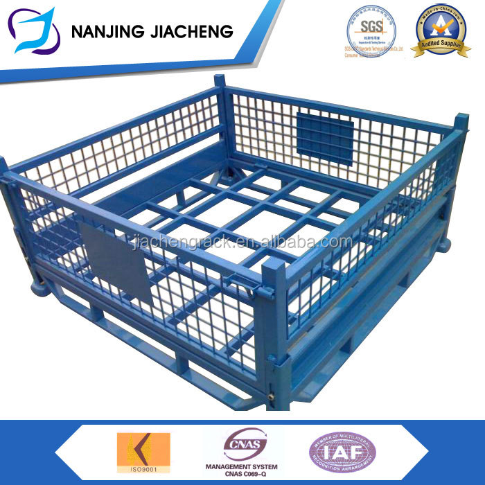 NANJING JIACHENG foldable and stackable powder coated cage 01