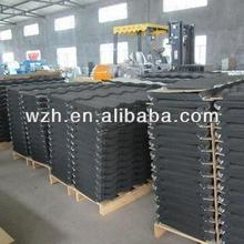 Waterproof Stone Chip Cladding Metal Roof Tile
