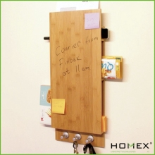 Eco-friendly bamboo notice board- HOMEX