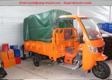 Cheap 3 wheel cargo bike/three wheel cabin motorcycle for cargo delivery