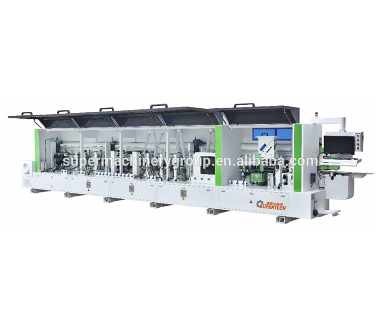 pvc edge banding machine F586G woodworking machine with PC controling