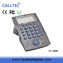 high quality call center dial pad RJ11 headset wire wired telephone telephone pole