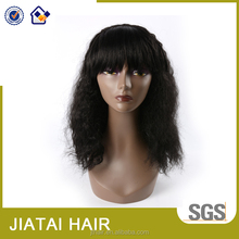 High quality fashionable YAKI fiber synthetic hair wigs for africians