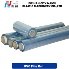 Blue pvc clear plastic film rolls