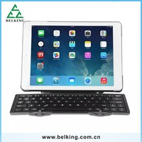 Smart Keyboard For iPad Tablet Folding Bluetooth High Quality Keyboard PC Material