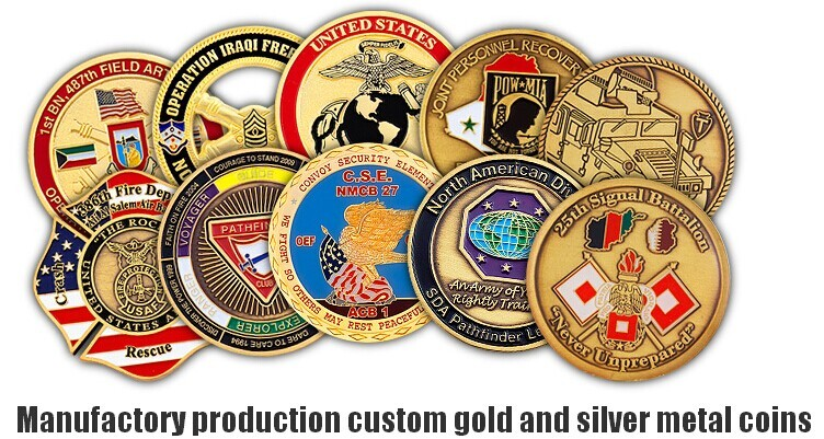 Factory professional custom souvenir COINS with clever design