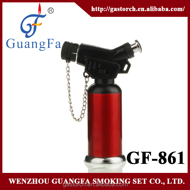 refillable butane gas torch