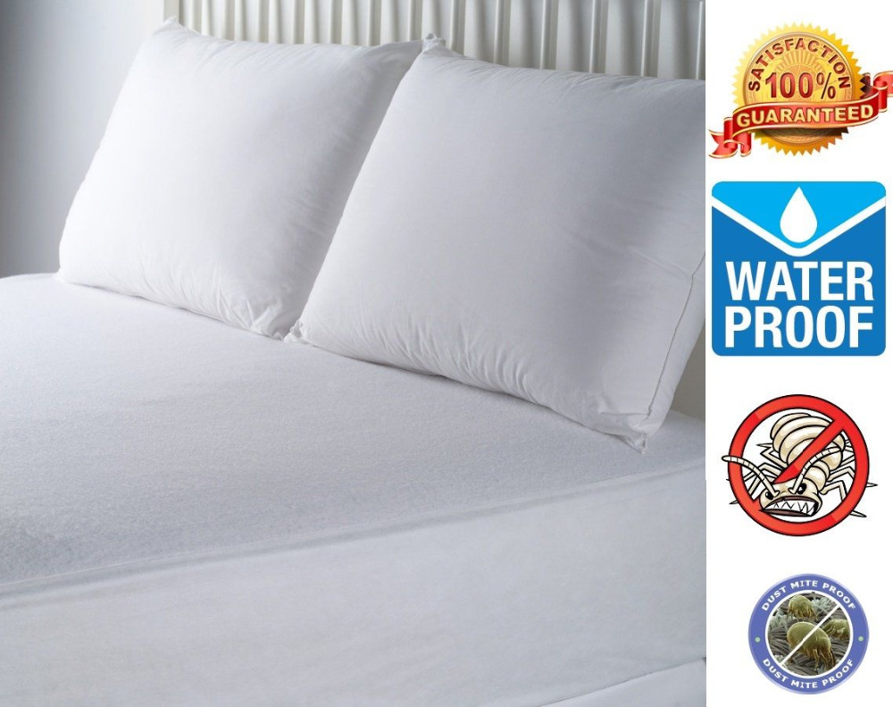 Terry Towel Waterproof Bed Bug Mattress Cover protector - Buy ... 064c081c5