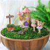 Wholesale Miniature Resin Fairy Garden Figurines Set