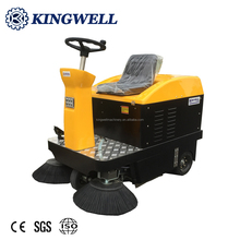 Concrete Floor Sweeping Machine Electric Road Sweeper Electric Cleaning Car Electric Street Sweeper