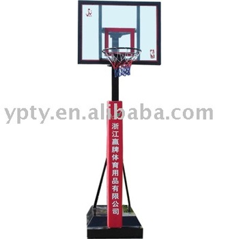 Mobile basketball basketball goal for leisure