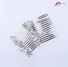Wholesale Fashion Butterfly Hair Comb Crystal Hair Accessories for women