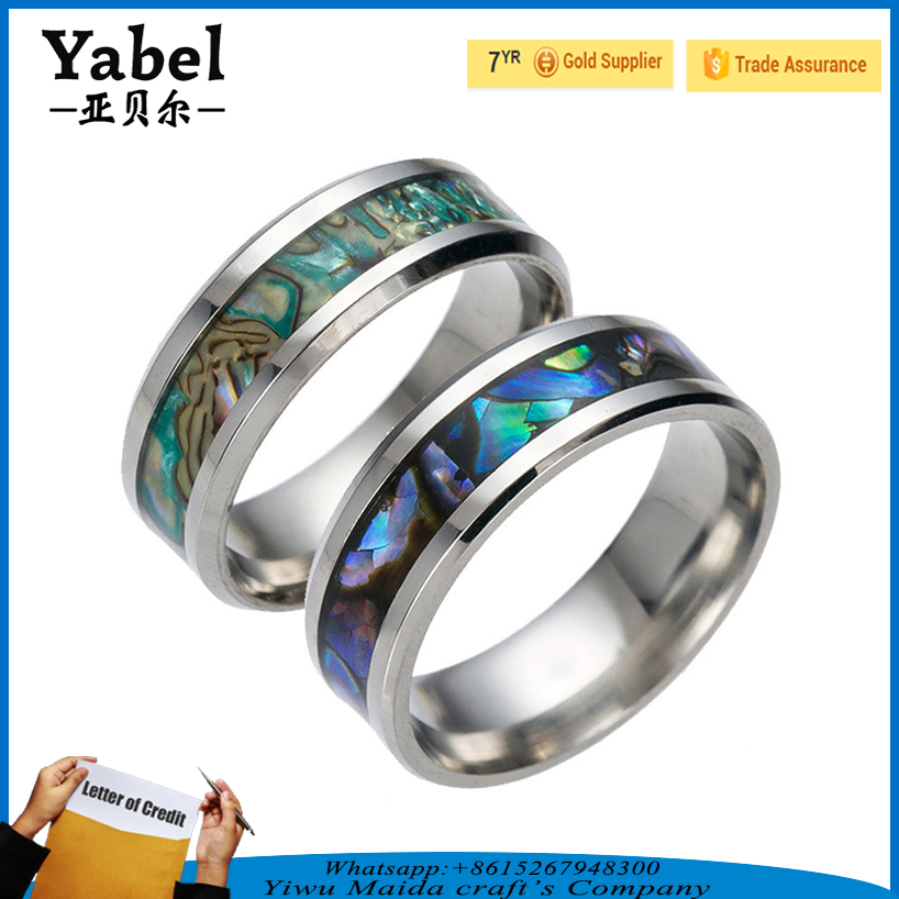 Best supplier colorful Titanium steel ring gold ring designs for men silicone ring