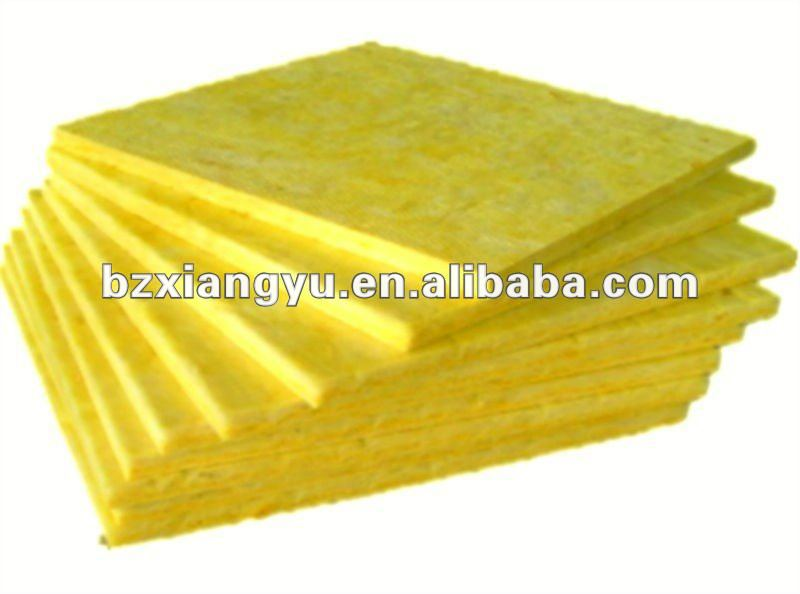 glass wool board insulation for fireplace
