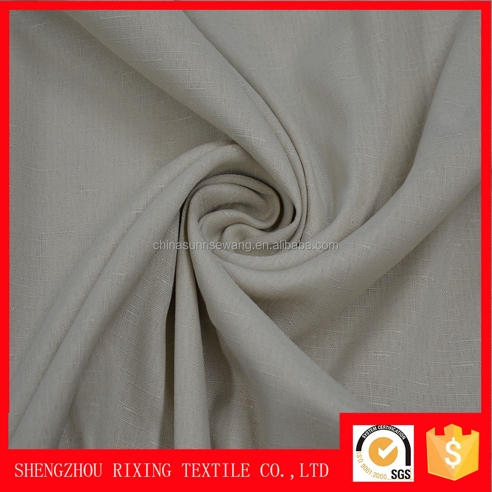 Special lightweight top quality 100% polyester slubbed fabric for tent