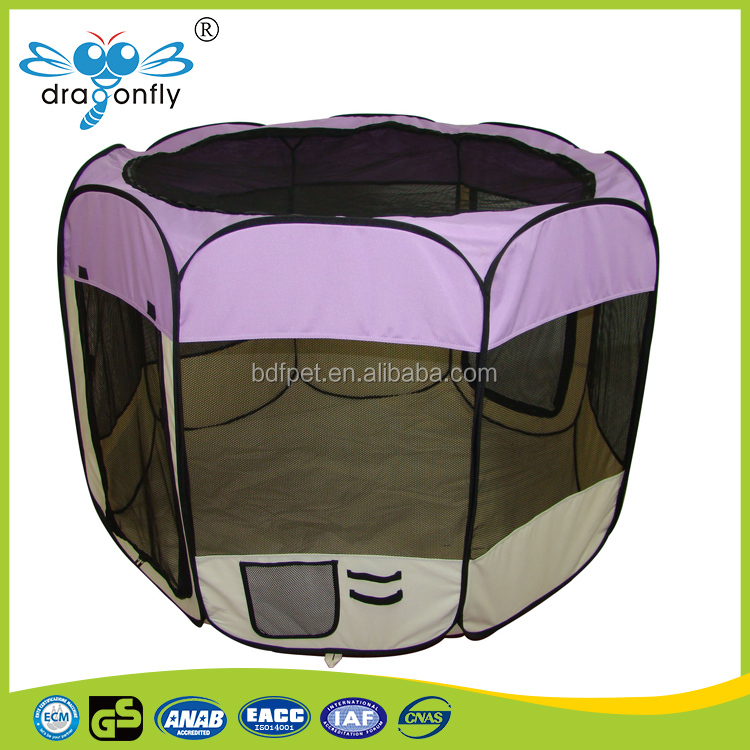 Beautiful design customized logo pet pen