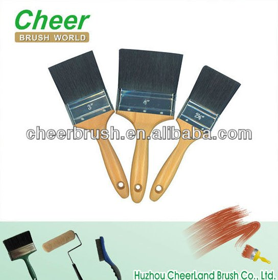 paint brush Cheer 1101/long bristle paint brush,rubber handle paint brush