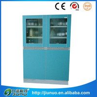 Hot sale laminar shockproof aluminium-wood laboratory medical cabinet