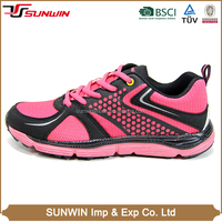 Sneaker athletic walking running lithe women running shoes made in China